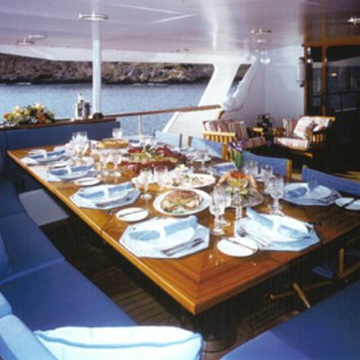 Atlantic Goose Aft Dining