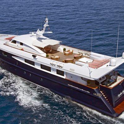 Sophie Blue Yacht Underway