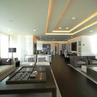 Siren Yacht Main Salon - Overview