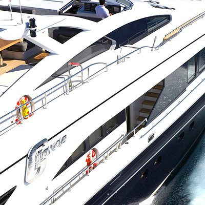 G Force Yacht Exterior