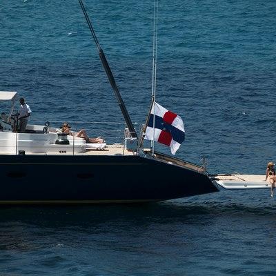 Mumu Yacht At anchor