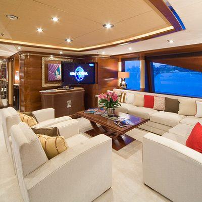 Latitude Yacht Upper Salon