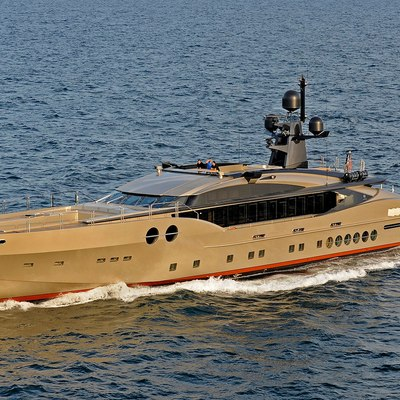 DB9 Yacht Running Shot - Profile