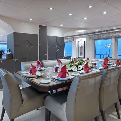 Daloli Yacht Dining Salon