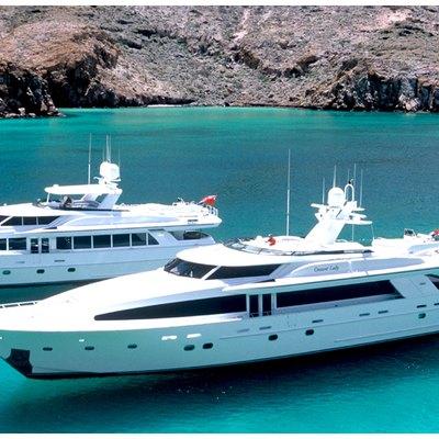Joan's Ark Yacht Side View
