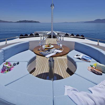 Mia Rama Yacht Circular Sun Pads