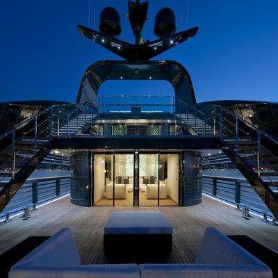Ocean Emerald Deck - Night