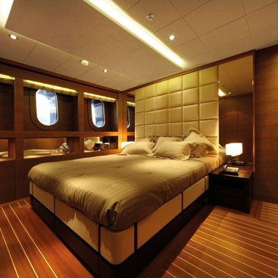 Zaliv III Yacht Guest Stateroom