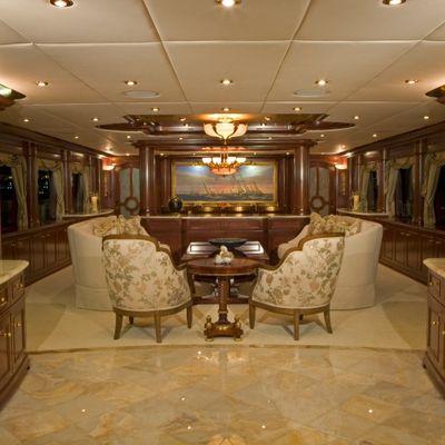 Aquasition Yacht Salon View Forward