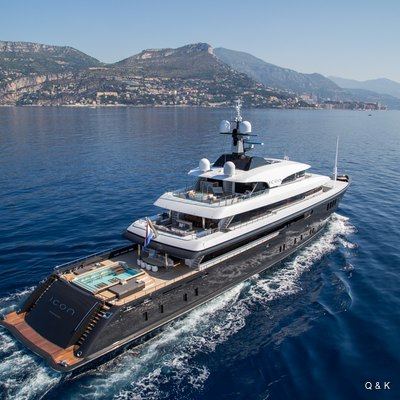 ICON Yacht Charter Price - Icon Yachts Luxury Yacht Charter
