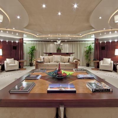 Sarah Yacht Main Salon