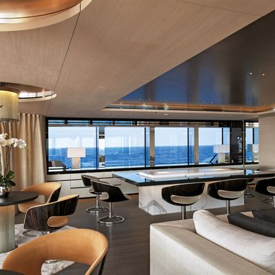 Nautilus Yacht Dining Area With Adjacent Seating