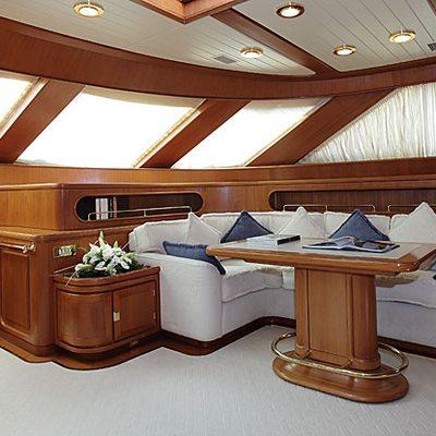 Principessa Vaivia Yacht Fwd Sitting Area