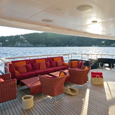 Baraka Yacht Main Aft Deck