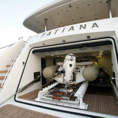 Tatiana Yacht Tender Garage