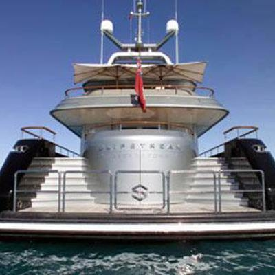 Silver Dream Yacht Stern
