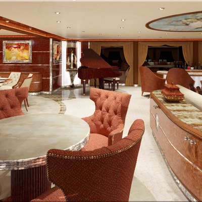 Diamonds Are Forever Yacht Lounge - Piano
