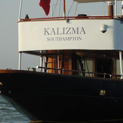 Kalizma Yacht Stern - Close