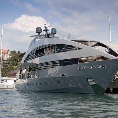 Ocean Pearl Yacht Moored