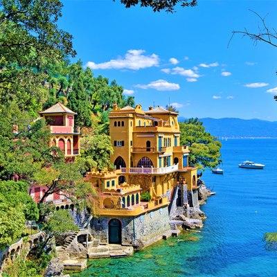 Disembark in Portofino