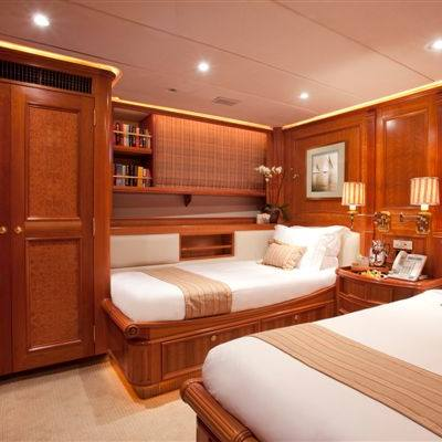Genevieve Yacht Twin Stateroom