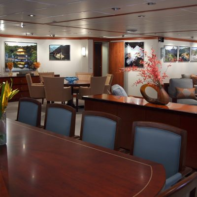 Silver Cloud Yacht Dining