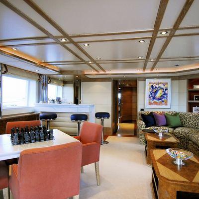 Balaju Yacht Interior Bar