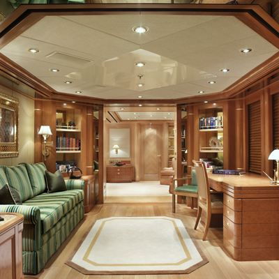 Laurel Yacht Master Office Adjacent to Master Suite - Night