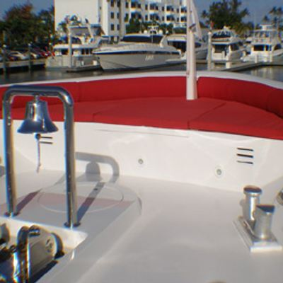 Murphy's Law Yacht Bow Seating