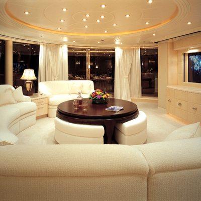 Capri I Yacht White Salon  - Screen