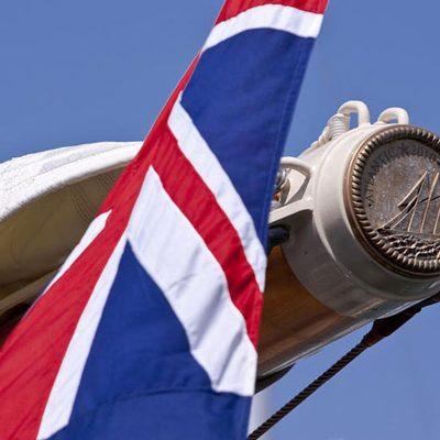 Atlantic Yacht Detail - Flag