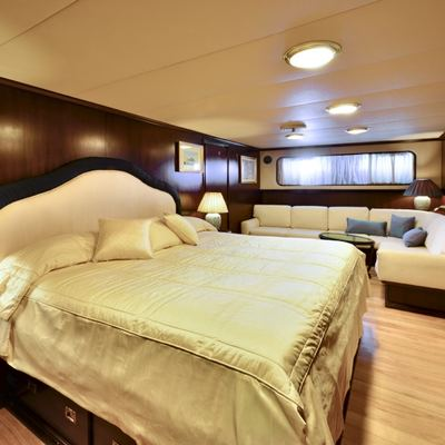 Number Nine Yacht Guest Cabin