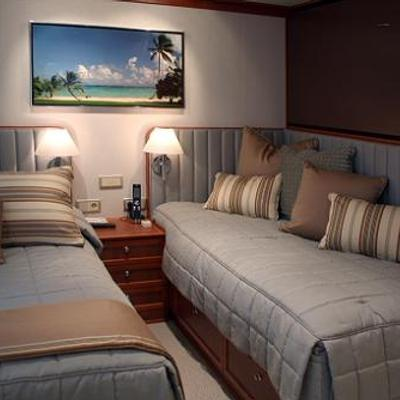 Silver Cloud Yacht Twin Stateroom