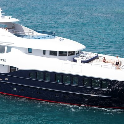 Blind Date Yacht Side View