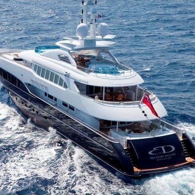 Blind Date Yacht Running Shot