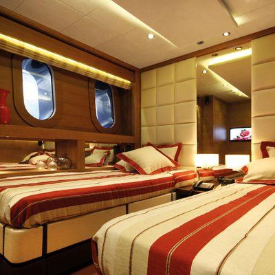 Zaliv III Yacht Twin Stateroom