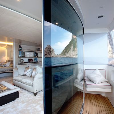 Quite Essential Yacht Master Stateroom & Balcony
