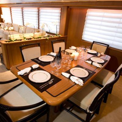Silent World II Yacht Dining Salon
