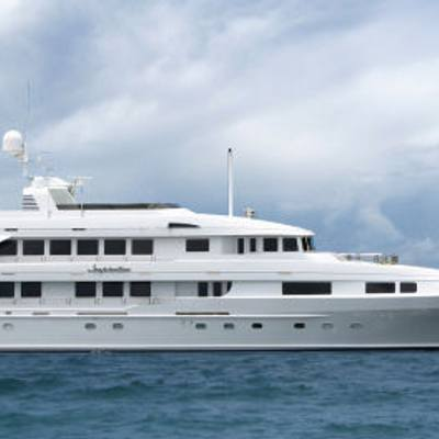 Inspiration Yacht Side View