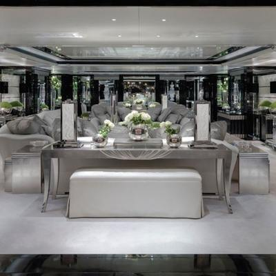 Silver Angel Yacht Salon - Overview