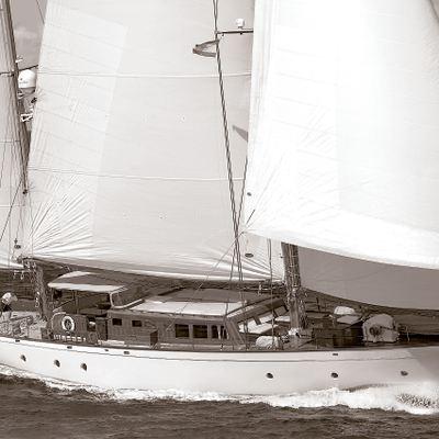 Tiziana Yacht Side View