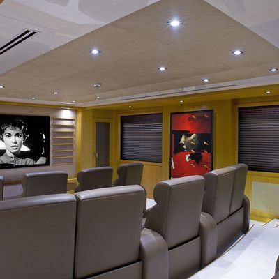 Neom Yacht Cinema