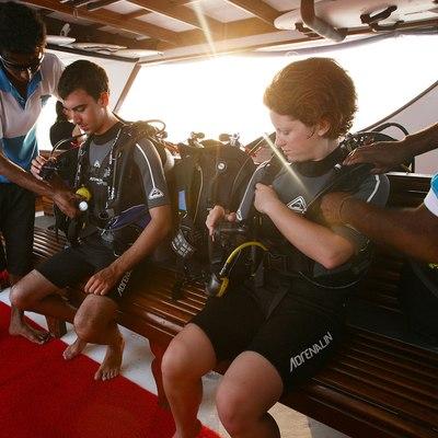 Dhaainkan'baa Yacht Swim Deck