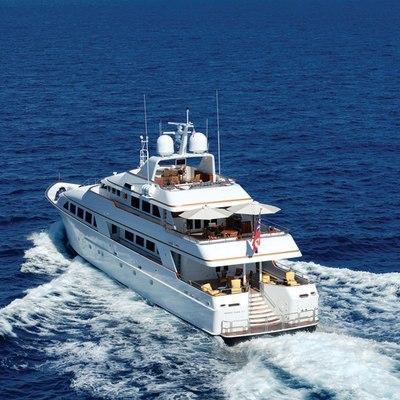 Lady J Yacht Aft