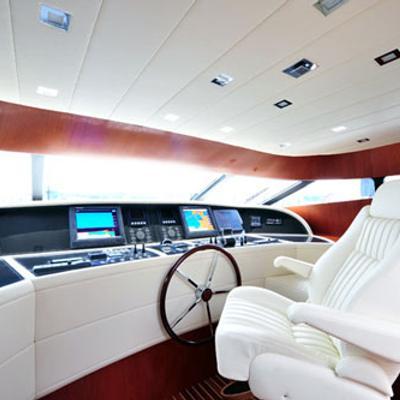Marnaya Yacht Cockpit