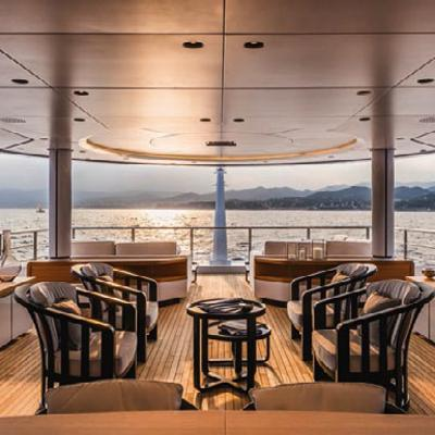Suerte Yacht Upper Deck Aft