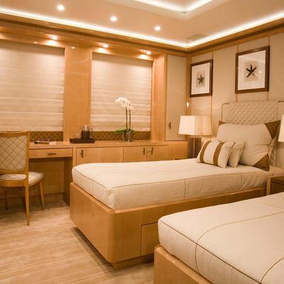 Alfa Nero Yacht Twin Stateroom