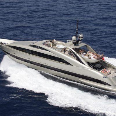 Hooligan II Yacht Running Shot