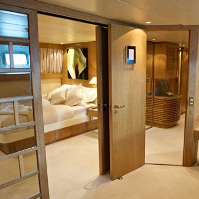 Sea Lady II Yacht View into Guest Stateroom