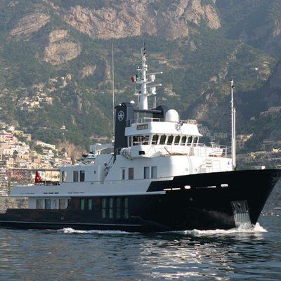 Jasmine Yacht Front View